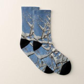 Winter Sky Socks