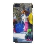 Winter - Sledding in the Park iPod Touch (5th Generation) Cover