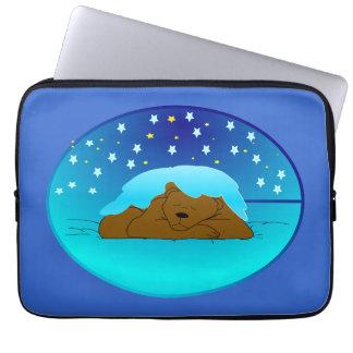 winter-sleep-295403  winter sleep hibernation CART Laptop Sleeves