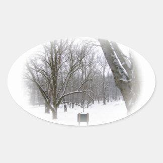 Winter Sleep Stickers