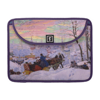 Winter Sleigh - Shrovetide Holiday MacBook Pro Sleeve