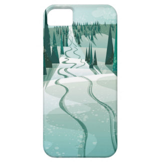 Winter Slope iPhone 5 Cover