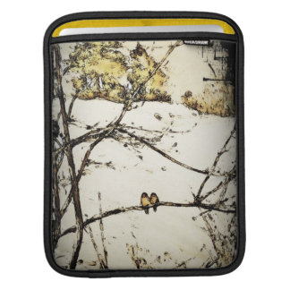 Winter Snow and Cold iPad Sleeves
