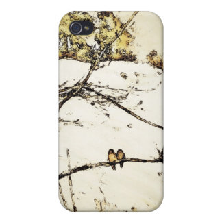 Winter Snow and Cold iPhone 4 Cover