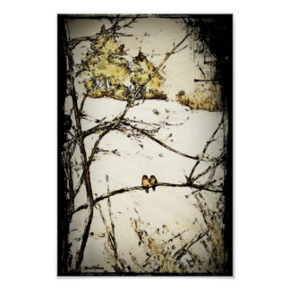 Winter Snow and Cold Poster