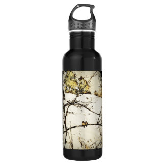 Winter Snow and Cold Stainless Steel Water Bottle