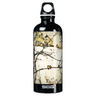 Winter Snow and Cold Water Bottle