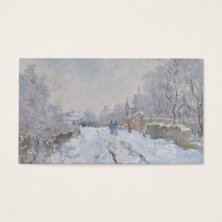 Winter Snow at Argeteuil Business Card
