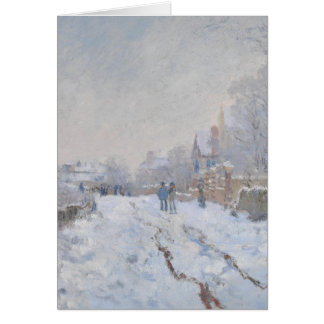 Winter Snow at Argeteuil Card