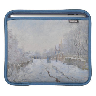 Winter Snow at Argeteuil iPad Sleeve