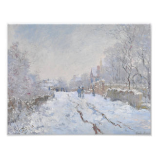 Winter Snow at Argeteuil Photograph