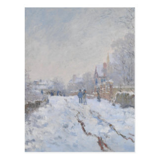 Winter Snow at Argeteuil Postcard