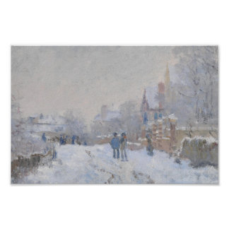 Winter Snow at Argeteuil Poster