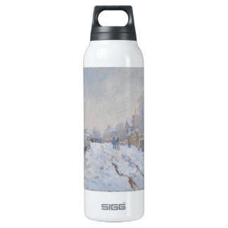 Winter Snow at Argeteuil 16 Oz Insulated SIGG Thermos Water Bottle