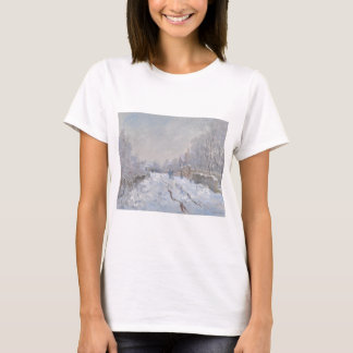 Winter Snow at Argeteuil T-Shirt