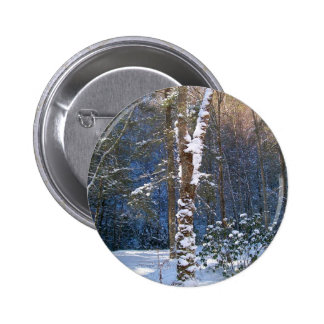 Winter Snow Button