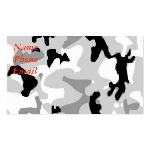 Camo business card templates page3 bizcardstudio wintersnow camouflage business card colourmoves