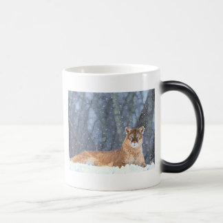 Winter Snow Cat Animal Peace Love Destiny Coffee Mugs