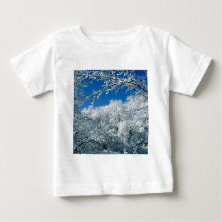 Winter Snow Covered Trees Warner Nashville Baby T-Shirt