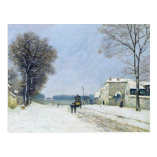 Winter, Snow Effect, 1876 Post Card