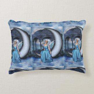 Winter Snow Fairy Accent Pillow