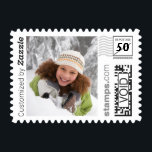 "Winter Snow Holiday Photo PhotoStamp by Stamps.com<br><div class=""desc"">Add a special touch to your holiday cards this year with custom postage. Upload your favorite photo and add custom text to make it one-of-a-kind.</div>"