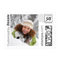 Winter Snow Holiday Photo PhotoStamp by Stamps.com