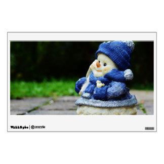 winter, snow man, fig, snow, snowmen, wintry, deco wall decal