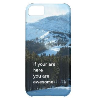 Winter Snow Mountain iPhone 5 Case