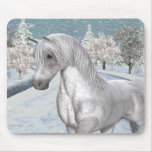 Winter Snow Mouse Pad