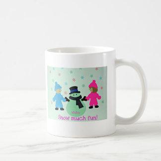 Winter, Snow much fun. Coffee Mug
