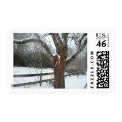 Winter Snow Postage stamp