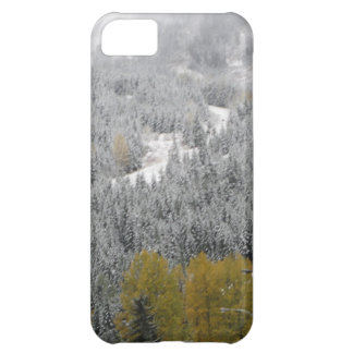 Winter Snow Scene Cover For iPhone 5C