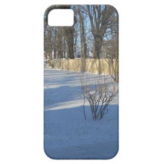 winter snow scene iPhone SE/5/5s case