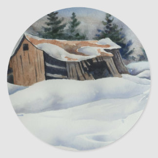 Winter Snow Sticker
