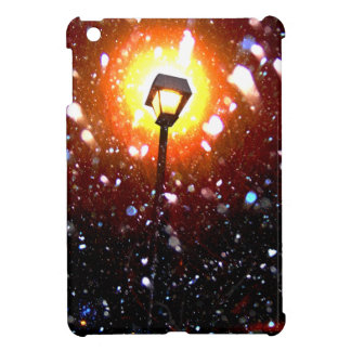 Winter Snow Storm At Night Cover For The iPad Mini
