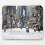 Winter Snow Storm New York City 12/26/10 Mouse Pad