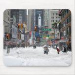 Winter Snow Storm New York City 12/26/10 Mousepad