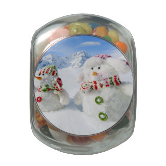 Winter, Snow, Sun And Fun, Christmas Glass Jars