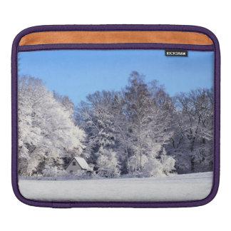 Winter Snow Wonderland iPad Sleeve