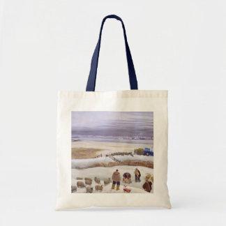 Winter Snowfall Tote Bag