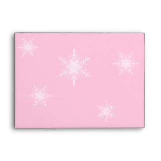 Winter Snowflake 5X7 Envelope