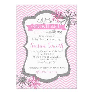 winter baby shower invitations announcements zazzle