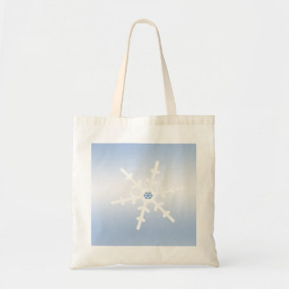 Winter Snowflake Canvas Bags