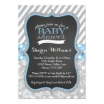 Winter Snowflake Boy Baby Shower invitation