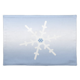Winter Snowflake Cloth Placemat