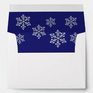 Winter Snowflake Envelope