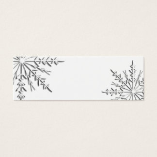 Winter Snowflake Gift Tags