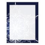 Winter Snowflake Letterhead