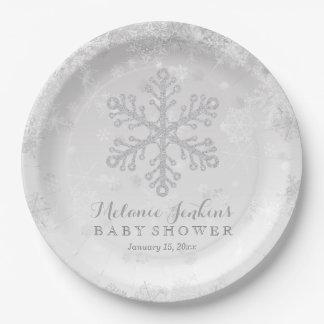 Winter Snowflake Silver Baby Shower Paper Plates  sc 1 st  Zazzle & Shower Kitchen Accessories \u0026 Supplies | Zazzle